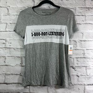 Rebellious One 1 800 Not Listening Graphic T-Shirt